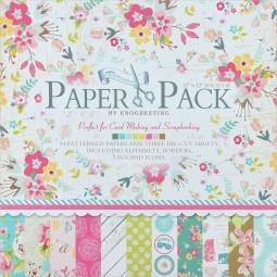 фото Набор бумаги для скрапбукинга Белоснежка «Цветущее лето»