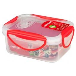 фото Контейнер для хранения продуктов Oursson Clip Fresh CP0400S. Цвет: красный
