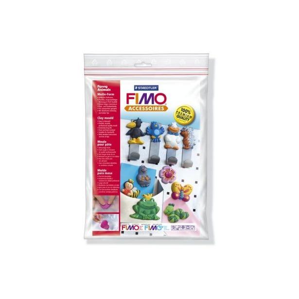 фото Набор формочек для лепки Fimo «Забавные животные»