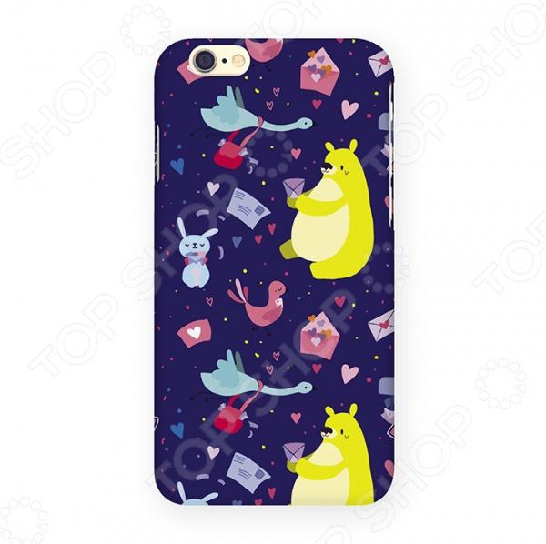 Чехол для iPhone 6 Mitya Veselkov «Медвежьи письма»