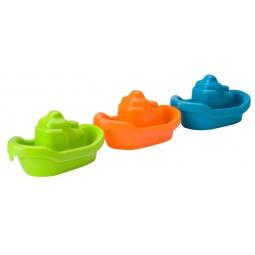 Купить Набор игрушек для ванны Alex «3 цветные лодочки»