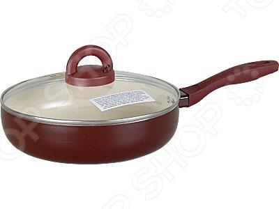 Сотейник со стеклянной крышкой POMIDORO DL2401Сотейники<br>Сотейник со стеклянной крышкой POMIDORO DL2401 - великолепное дополнение к вашей кухонной утвари. Прочный и надежный сотейник позволит вам готовить любимые блюда без использования большого количества масла. Эта посуда идеально подойдет для варки или тушения овощей, мяса, приготовления кремов и соусов. Главным преимуществом данного изделия является высокотехнологичное антипригарное покрытие, которое позволяет добиться супер-гладной поверхности. Оно также отличается своей экологичностью и безопасностью. Оптимальная толщина стенок позволяет сотейнику быстро нагреваться, равномерно распределяя тепло по всей поверхности. Стеклянная крышка оснащена удобной пластиковой ручкой.<br>