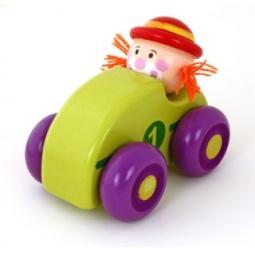 фото Игрушка деревянная Mapacha «Клоун». В ассортименте. Цвет: зеленый