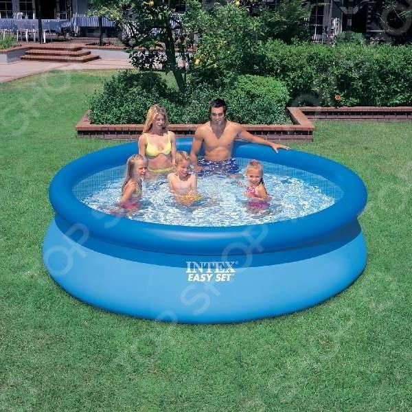 Бассейн надувной Intex с28120 Easy Set надувной бассейн intex easy set 3 05х0 76м 56922 28122 28122np