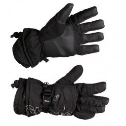 Купить Перчатки горнолыжные GLANCE Element (2012-13). Цвет: черный