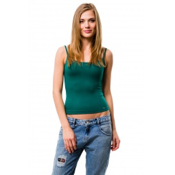 фото Майка Mondigo 551. Цвет: темно-зеленый. Размер одежды: 44