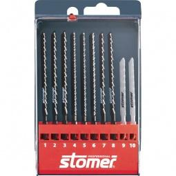 Купить Набор пилок для лобзика Stomer SS-10-P