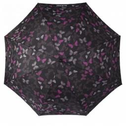 фото Зонт Isotoner 09451. Рисунок: розовые бабочки