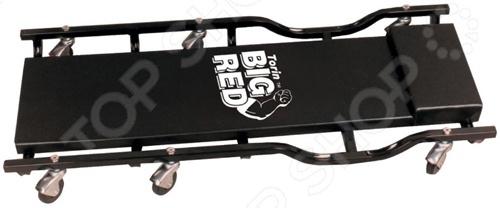Лежак ремонтный на колесах Big Red TR6455