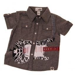 фото Рубашка с коротким рукавом Mini Shatsu Electric Guitar. Рост: 104-110 см