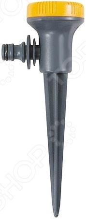 Распылитель на пике FIT 77681Дождеватели. Оросители. Распылители<br>Распылитель на пике FIT 77681 - удобная и практичная модель, незаменима на любом приусадебном участке. Модель предназначена для стационарного орошения почвы. Выбрать необходимый режим можно при помощи поворота диска распылителя. Устройство оснащено 5-ю режимами распыления воды, а так же обладает универсальным быстросъемным соединением. Модель выполнена из качественных и прочных материалов, что значительно продлевает срок эксплуатации изделия.<br>