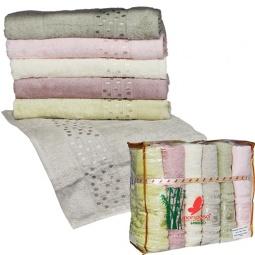 фото Комплект из 6-ти махровых полотенец Mariposa Puanli Mix