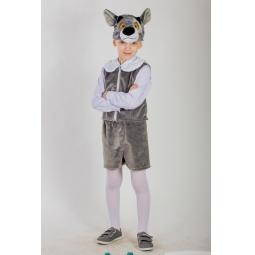 фото Костюм карнавальный для мальчика Карнавалия «Волчонок»