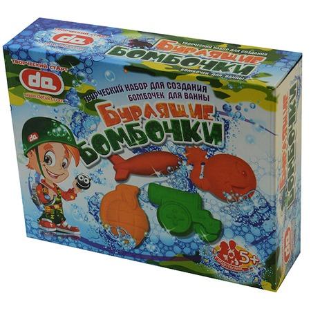Купить Набор для детского творчества ДЕТИ АРТ «Бурлящие бомбочки для ванны. Боеприпасы»