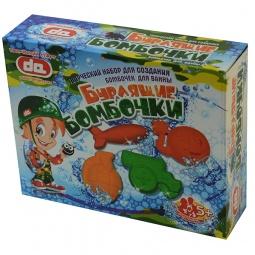 фото Набор для детского творчества ДЕТИ АРТ «Бурлящие бомбочки для ванны. Боеприпасы»