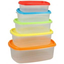 Набор контейнеров для продуктов Rosenberg RPL-575001-5