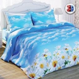 Купить Комплект постельного белья Любимый дом «Ромашки». 2-спальный