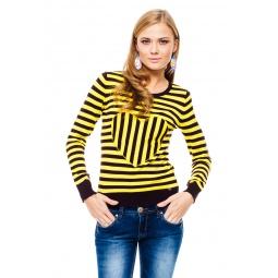 фото Свитер Mondigo 9882. Цвет: желтый. Размер одежды: 44