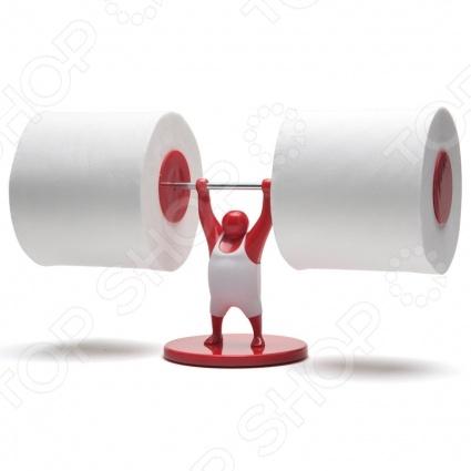 Держатель для туалетной бумаги Monkey Business MR. T будет не только полезным аксессуаром в ванной комнате, но и станет ее украшением. Такой держатель будет стильным дополнением в интерьере вашей ванной комнаты, а еще вы сможете добавить немного юмора и веселья в окружающую вас каждый день обстановку. Вместо скучной стойки вы получите целую сюжетную постановку с веселым силачом Мистером Т.