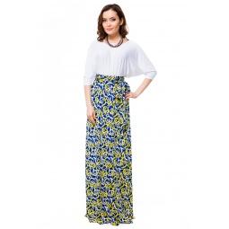 фото Платье Mondigo 7048. Цвет: синий. Размер одежды: 48