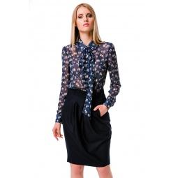 фото Юбка Mondigo 6092. Цвет: темно-синий. Размер одежды: 48