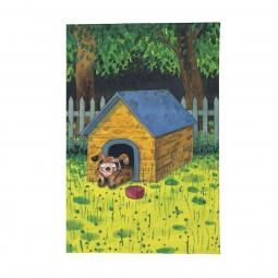 фото Обложка для автодокументов Mitya Veselkov «Мечтающий пес в будке»