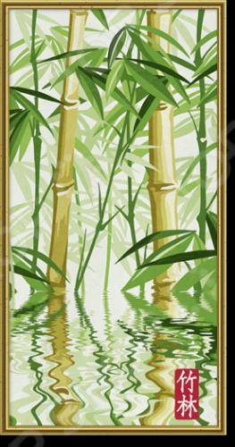 Набор для рисования по номерам Schipper «Бамбуковый лес»Наборы для рисования по номерам<br>Набор для рисования по номерам Schipper Бамбуковый лес это отличная раскраска, которая точно понравится любителям заниматься изобразительным искусством. Живопись по числам становится очень популярной, ведь картин огромное множество и вы можете подобрать именно то, что хочется вам. В процессе рисования человек открывает душу, чувствует связь с миром и со своей глубинной сущностью. Процесс рисования представляет собой процесс создания фантастического мира, в котором все будет идеальным. Во время раскрашивания ребенок развивает мелкую моторику пальцев, фантазию и усидчивость. Но, такая картина может стать прекрасным подарком и для взрослого человека, ведь рисование так успокаивает после трудового дня. Размер картины: 40х80 см.<br>