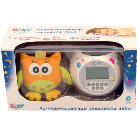 Купить Ночник-проектор для ребенка Roxy-Kids OLLY «Звездное небо. Сова»