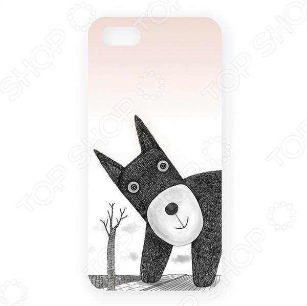 Чехол для iPhone 5 Mitya Veselkov «Плюшевый пес»