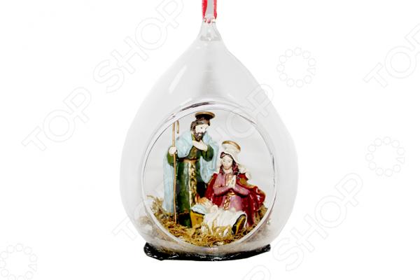 Елочное украшение Crystal Deco «Рождество» 1707783