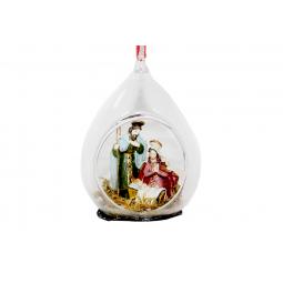 фото Елочное украшение Crystal Deco «Рождество» 1707783