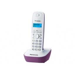 фото Радиотелефон Panasonic KX-TG1611. Цвет: сиреневый, белый