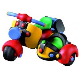 Купить Конструктор игровой Mic-o-mic Мотороллер с коляской