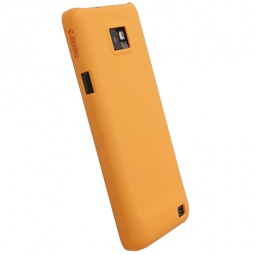 фото Чехол для Krusell ColorCover для Samsung I9100 Galaxy S II. Цвет: оранжевый