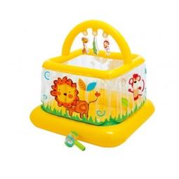 фото Манеж надувной Intex для малышей 48473NP. В ассортименте