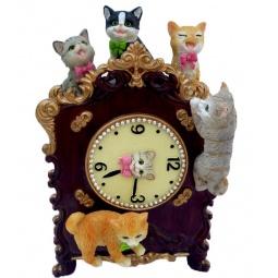 фото Музыкальная шкатулка Star Trading «Часы с котятами»