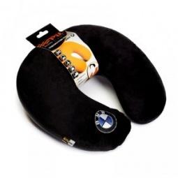фото Подушка-подголовник Pit stop «BMW». Цвет: черный