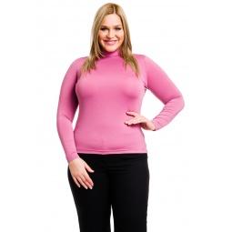 фото Водолазка Mondigo XL 264. Цвет: темно-розовый. Размер одежды: 48