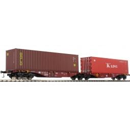 фото Вагон для перевозки грузов Mehano SGGMRSS 90' TOUAX Gold Data