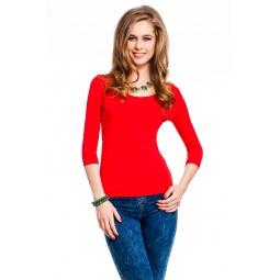 фото Кофта Mondigo 023. Цвет: красный. Размер одежды: 42