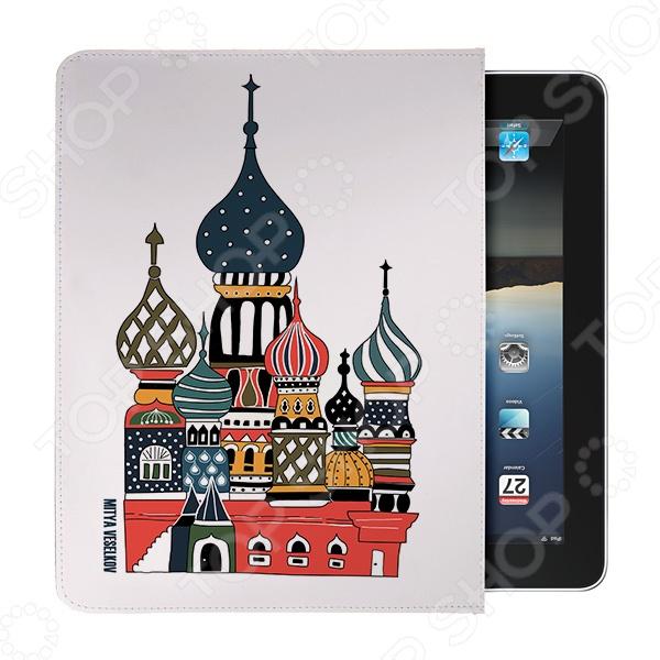 Чехол для iPad Mitya Veselkov «Храм» IP чехлол для ipad iphone mitya veselkov чехол для ipad райский сад ip 08