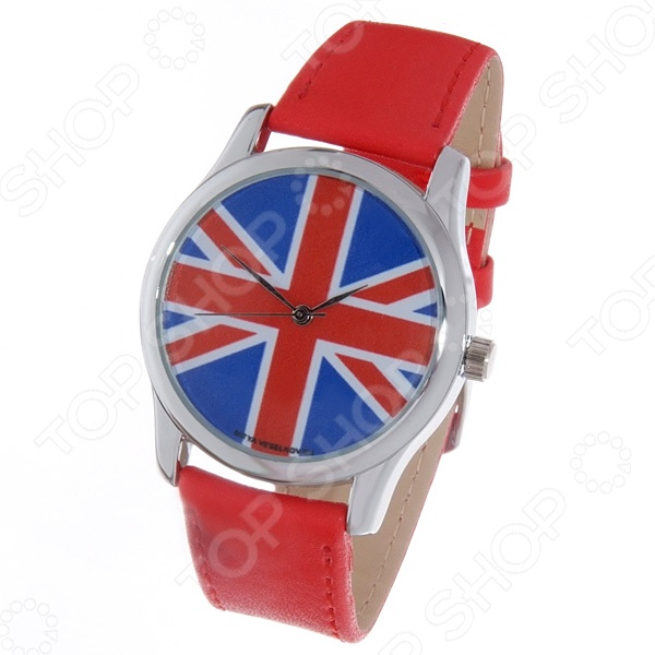 Часы наручные Mitya Veselkov «Британский флаг» Color часы наручные mitya veselkov райский сад color