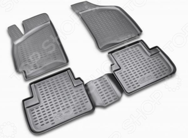 Комплект ковриков в салон автомобиля Novline-Autofamily Chevrolet Lanos 1997Коврики в салон<br>Комплект ковриков в салон автомобиля Novline Autofamily Chevrolet Lanos 1997 поможет обеспечить чистоту и комфортные условия эксплуатации вашего автомобиля. Используйте эти коврики, чтобы защитить оригинальное покрытие пола от грязи, пыли, пятен и воздействия влаги. Изделия созданы из экологически чистого полимерного материала, прошедшего строгий гигиенический контроль. Оцените основные преимущества полиуретановых ковриков Novline:  Нейтральность к агрессивному воздействую различных химических сред.  Высокая устойчивость к значительным перепадам температур в диапазоне от -50 до 50 C .  Устойчивость к воздействию ультрафиолетовых лучей.  Значительно легче резиновых аналогов. Легко очищаются от грязи, обладают повышенной износостойкостью.  Свойства материала и текстура поверхности коврика обеспечивают противоскользящий эффект.  Форма ковриков разработана с учетом особенностей конкретной марки и модели автомобиля применяется технология 3D-сканирования для максимальной точности , что избавляет владельца от необходимости их подгонки под салон своей машины. Коврики надежно фиксируются на своих местах и не смещаются.  Передняя часть водительского ковра имеет специальную форму, исключающую зацепление педали за изделие.<br>