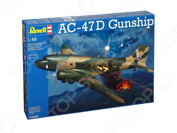 Сборная модель военного самолета Revell 04926R «AC-47 Gunship»