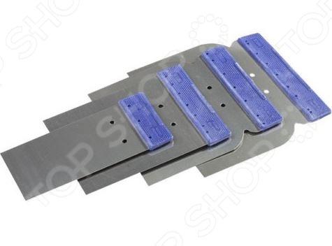 Набор шпателей Stayer Profi «Япончик» 1012-H4 набор ключей рожковых гаечных stayer profi 27037 h6
