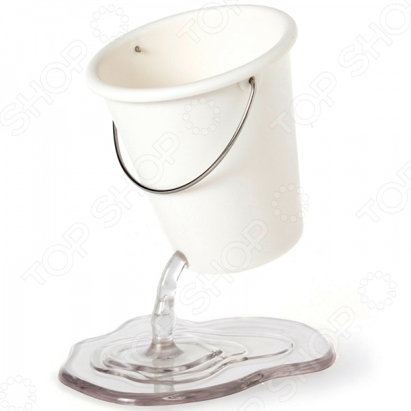 Органайзер для рабочего стола Peleg Design Desk Bucket станет отличным дополнением к набору ваших канцелярских принадлежностей. Он не только поможет вам организовать порядок на рабочем столе, но и внесет яркий акцент в интерьер комнаты или кабинета. Модель универсальна и практична в использовании, пригодится для хранения ручек, карандашей, ножниц, фломастеров, ластиков, скрепок, линеек и т.д. Органайзер имеет очень необычный дизайн; он выполнен в виде ведерка с льющейся водой. Изделие изготовлено из высокопрочного АБС-пластика.