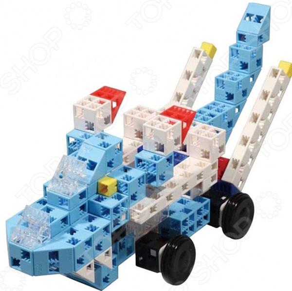 Конструктор игровой Знаток Artec «Небесные гонщики»Спецтехника<br>Конструктор игровой Знаток Artec Небесные гонщики прекрасный подарок для юного конструктора! Игровой набор не только обучает и развлекает, но и помогает развивать мелкую моторику рук, логическое мышление и воображение ребенка. Комплект содержит детали, с помощью которых можно собрать целого боевого робота с пушками и прочими крутыми штуками. Все детали выполнены из нетоксичных материалов, поэтому полностью безопасны для ребенка. Рекомендуется для детишек от 5 лет и старше.<br>
