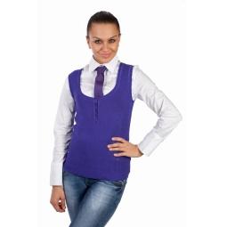 фото Жилет Mondigo 9402. Цвет: фиолетовый. Размер одежды: 44