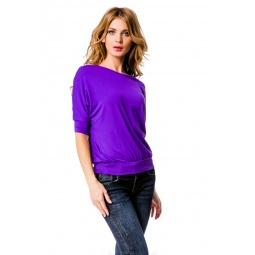 фото Кофта Mondigo 7047. Цвет: фиолетовый. Размер одежды: 44