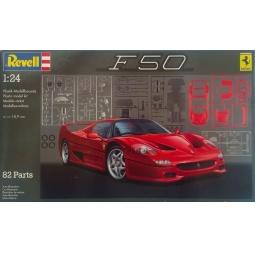 фото Сборная модель автомобиля Revell 07370R «Ferrari F 50»